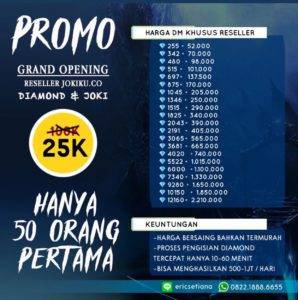 Promo Diamond ML Legal 100% Mobile Legends Termurah